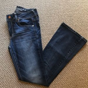 Kick Boot Low Rise Jeans